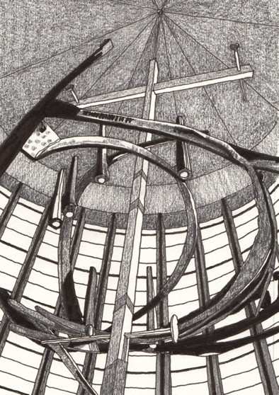 From Iona to Alpha homepage image of cross at coventry cathedral